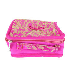 Buy Goldencollections Pink Jewellery Pouch jewellery-box online