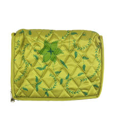 Buy Goldencollections Green Jewellery Pouch jewellery-box online