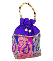 Buy Goldencollections Bridal Hand Pouch potli-bag online