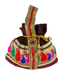Buy Goldencollections Mobile Hand Pouch potli-bag online