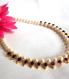 Purple Pearl Necklace shop online