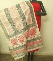 Buy Red white dress material dress-material online