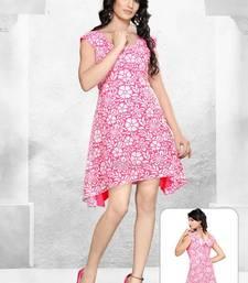 Buy Brasso Designer Pink Western Dress dress online