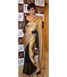 Buy bollywod replica mandira bedi golden saree other-actress-saree online