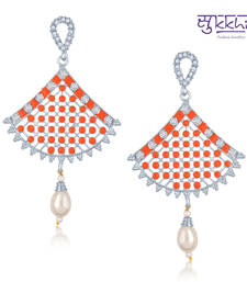 Buy Diwali Offers - Sukkhi Exquisite Gold Plated Australian Diamond Stone Studded Neon Coloured Earring(6025EADN600) diwali-discount-offer online