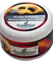 Buy Orange and papaya exfoliating face scrub 500gm personal-cis online