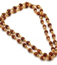 Buy Gold plated rudrax mala Other online