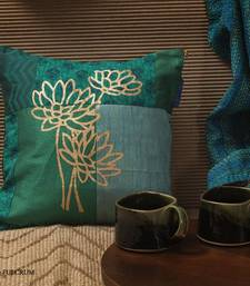 Buy Cushion cover - Teal small pillow-cover online