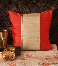 Buy Cushion cover - Peach pillow-cover online