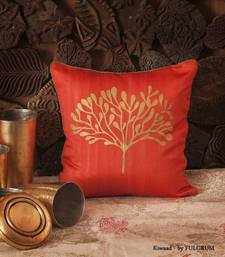 Buy Cushion cover - Peach small  pillow-cover online