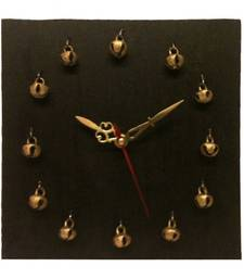Buy Wooden Ghungroo Clock wall-clock online