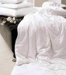 Buy Just Linen Budget Cotton Silkenised Single AC Duvet Filler duvet-cover online