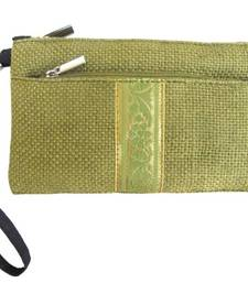 Buy Ella-Wristlet Green Eco Friendly Fashion Wallet wallet online