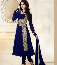 Buy Latest designer anarkali attire party-wear-salwar-kameez online