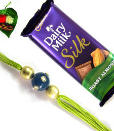 Buy Big Combo Kundan Work Rakhi  Pack  rakhi-with-chocolate online