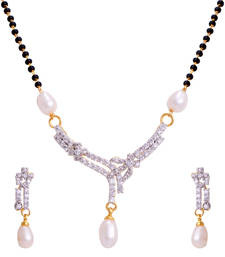 Buy White pearl mangalsutra mangalsutra online