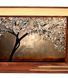 Buy Natural Wooden Color Antique Wooden Photo Frames For Wall Hanging photo-frame online