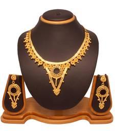 Buy Vendee Fashion Choker Necklace Set 8035 Necklace online