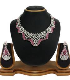Buy Vendee Fashion wedding Necklace set (7789) necklace-set online