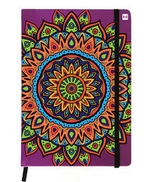 Buy Premium Diary Purple Leather Hardbound Cover Classic Diary stationery online