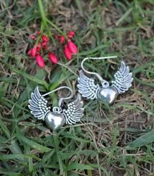 Buy Wings of my Heart Earrings danglers-drop online