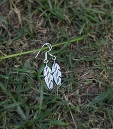 Buy Dainty Feather Earrings danglers-drop online