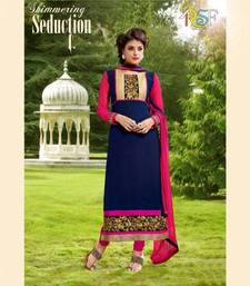Buy Designer Straight Salwar Kameez by Evelyn Sharma salwars-and-churidar online
