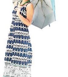 Buy Blue Maxi dress online