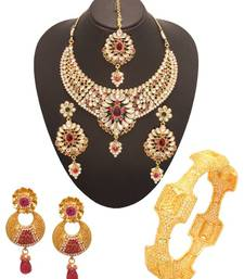 Buy Vendee Fashion Indian bollywood fashion jewellery (1336) necklace-set online