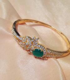 Buy CZ Stone Studded Bracelet (Designer) bangles-and-bracelet online