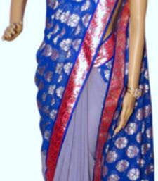 Buy Designer fancy viscose saree viscose-saree online