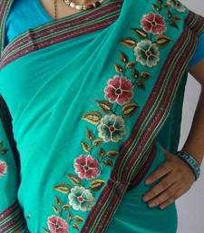 Embroidered Saree shop online
