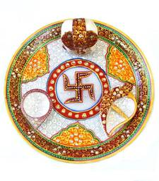 Buy Big Ganesh Puja Thali tray online
