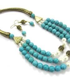 Buy Tourquoise Hasli  necklace-set online