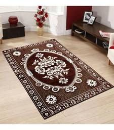 Buy Brown Chenille Carpet Traditional carpet online