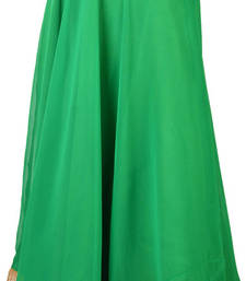 Georgette Green Gotta Patti Skirt with Tassel shop online