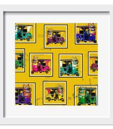 Buy Retro Taxis Art Print wall-art online