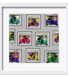 Buy Farmed Taxis Collage Art Print wall-art online