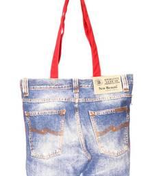 Buy Denim hand bag  pp29 A  muhenera bags collection handbag online