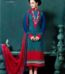Buy Party Wear Awesome Straight Suit With Crape salwars-and-churidar online