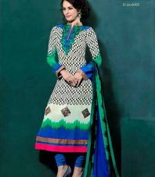 Buy Awesome Designer Party Wear Straight Suit salwars-and-churidar online