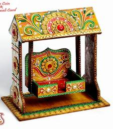 Buy Diwali Pooja Jhula crafted from Wood with clay work  - Diwali Gifts & Offers diwali-decoration online