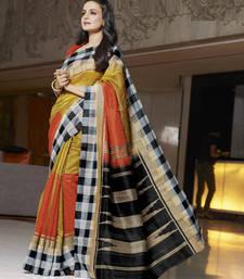 Styloce Multi Color Bhagalpuri Silk Saree-STY-106-11402 shop online