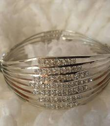 Buy Silver Finish Bracelet-080136 bangles-and-bracelet online