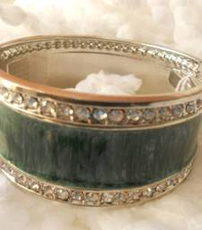 Buy Stone Studded Green Bracelet-080134 Bracelet online