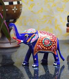 Buy Meenakari Delightful Elephant home-decor online