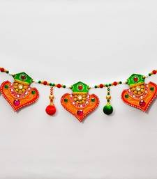 Buy Papier-Mache Colorful Bandarwal - Door Hanging home-decor online