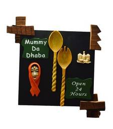 Buy Mummy Da Dhaba Wall Hanging wall-art online
