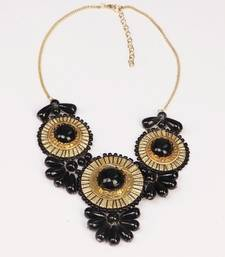 Buy Black Stylish & Designer Necklace Necklace online