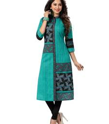 Buy Multicolor printed cotton kurtas-and-kurtis wedding-season-sale online